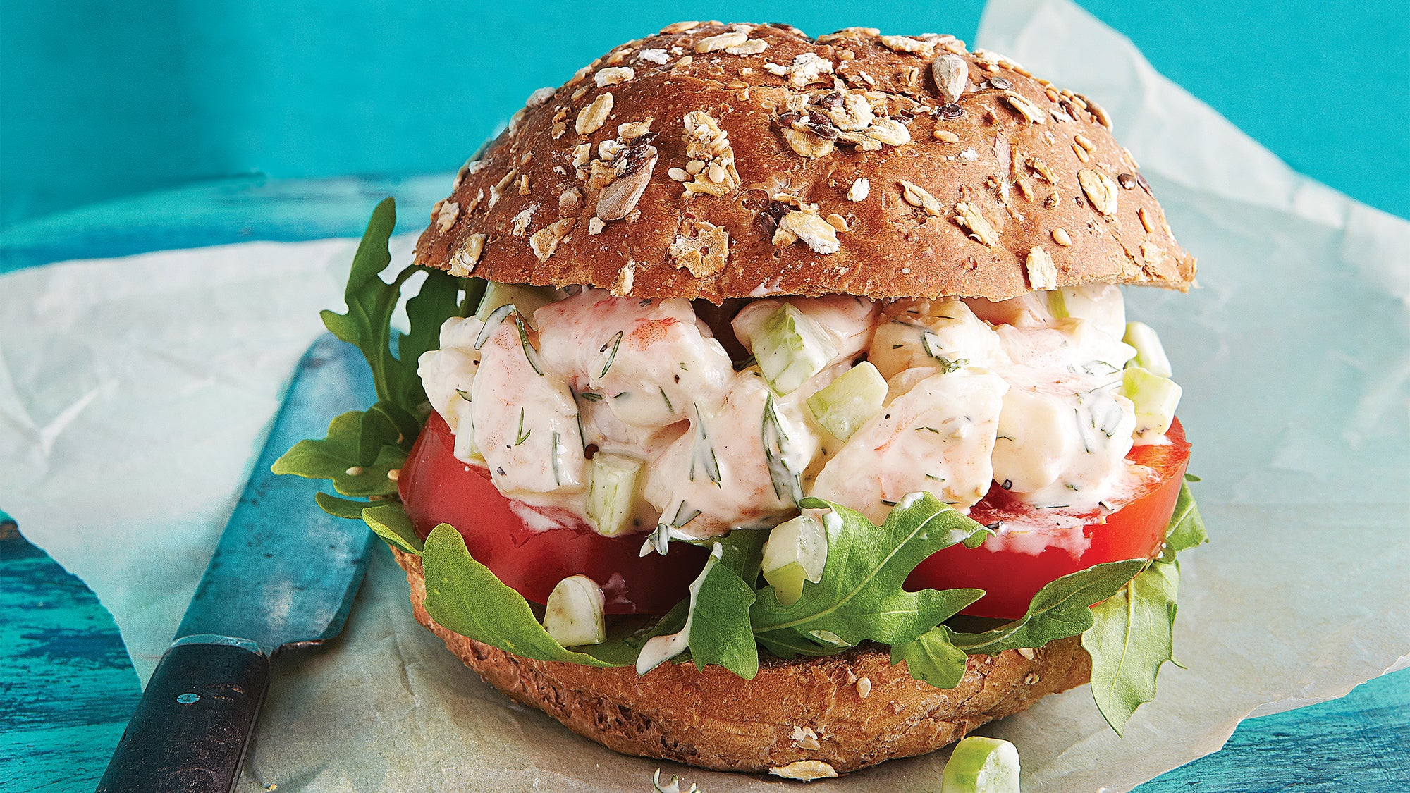 Shrimp Salad Sandwich Clean Lunch Recipes