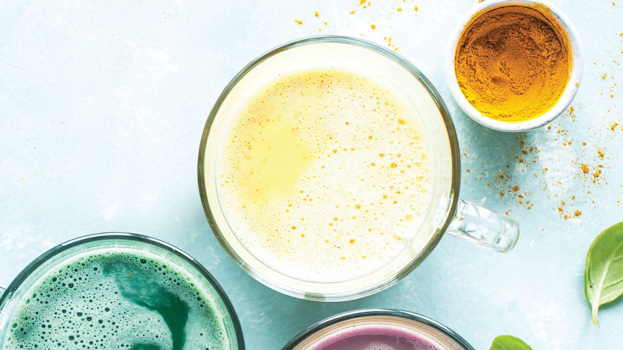 Turmeric Ginger Latte Recipe