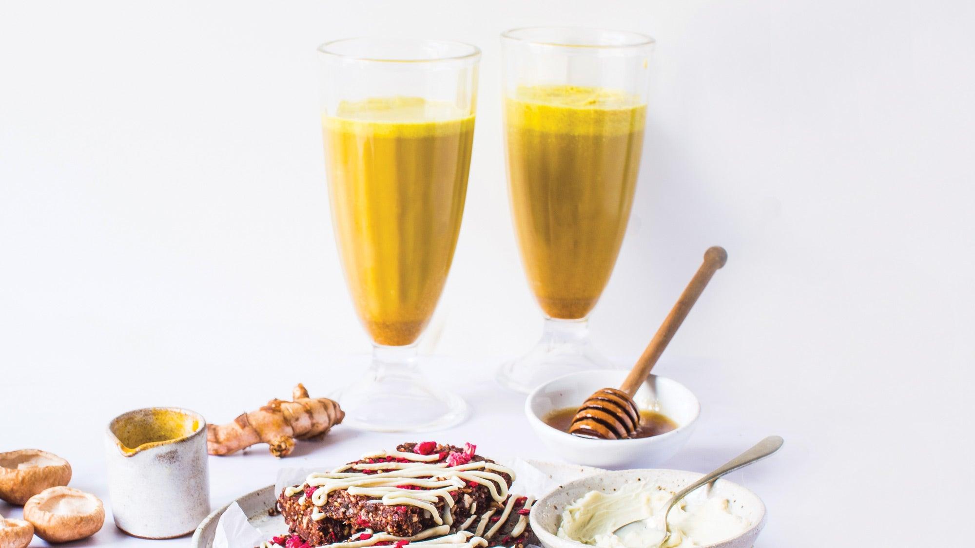 Reishi Golden Milk Nightcap recipe