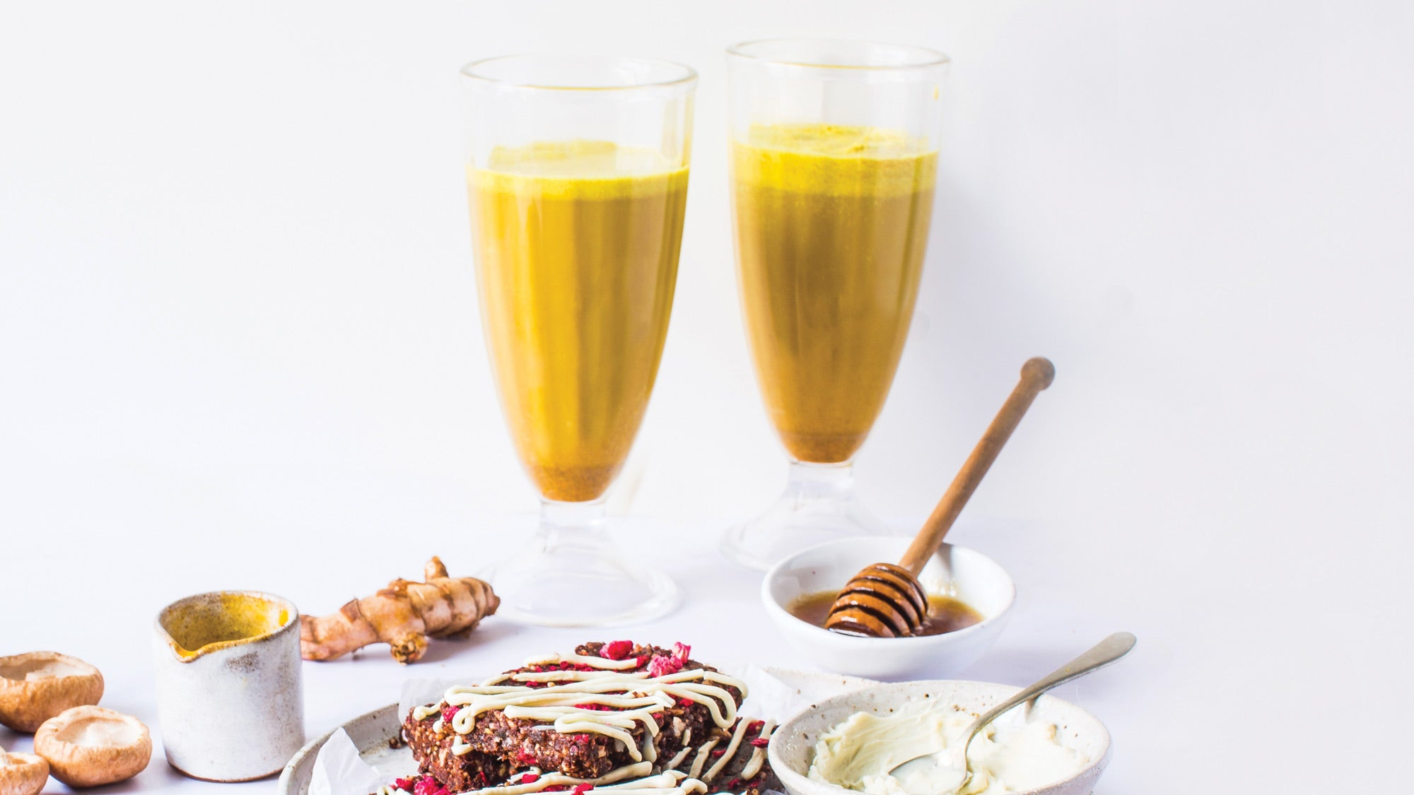 Reishi Golden Milk Nightcap recipe