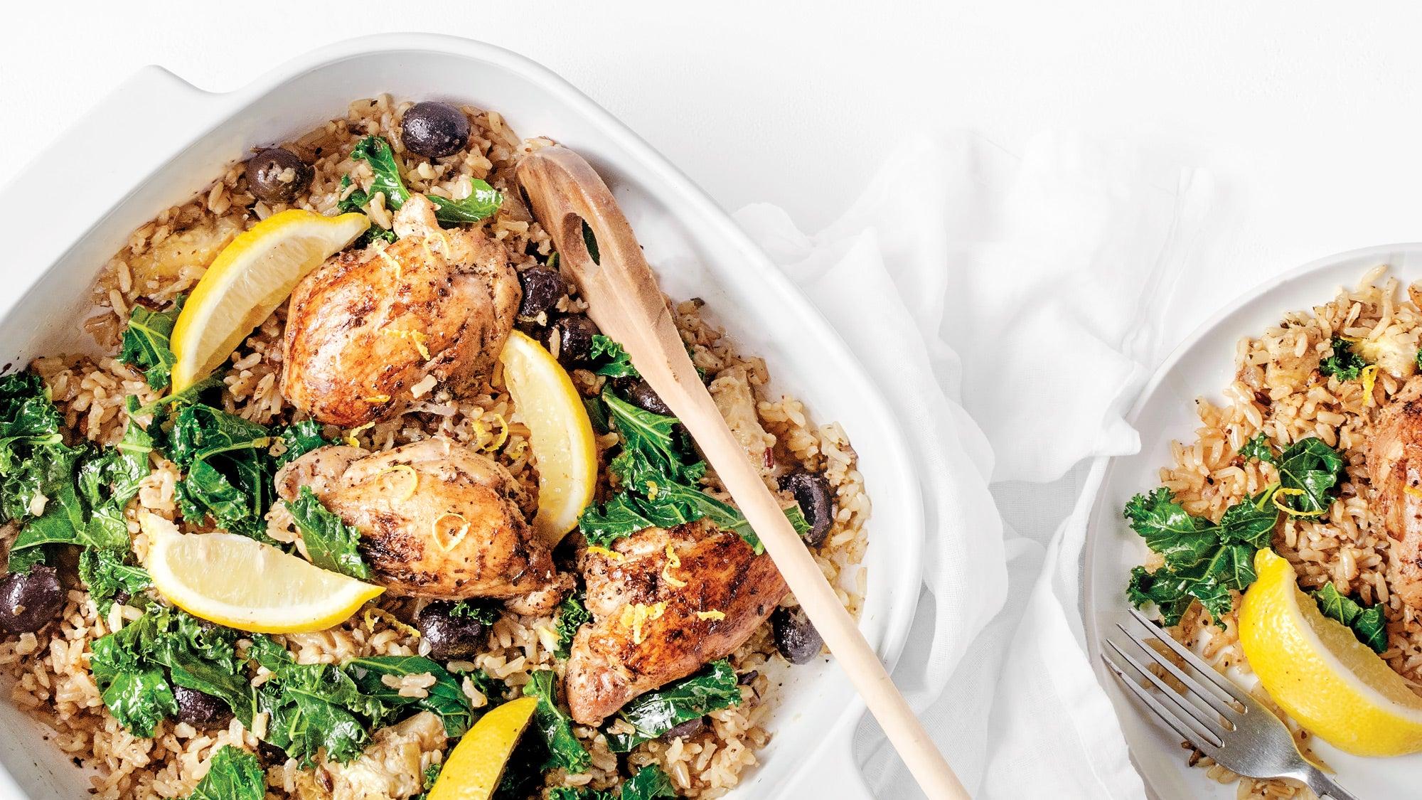 mediterranean diet recipes lemon chicken