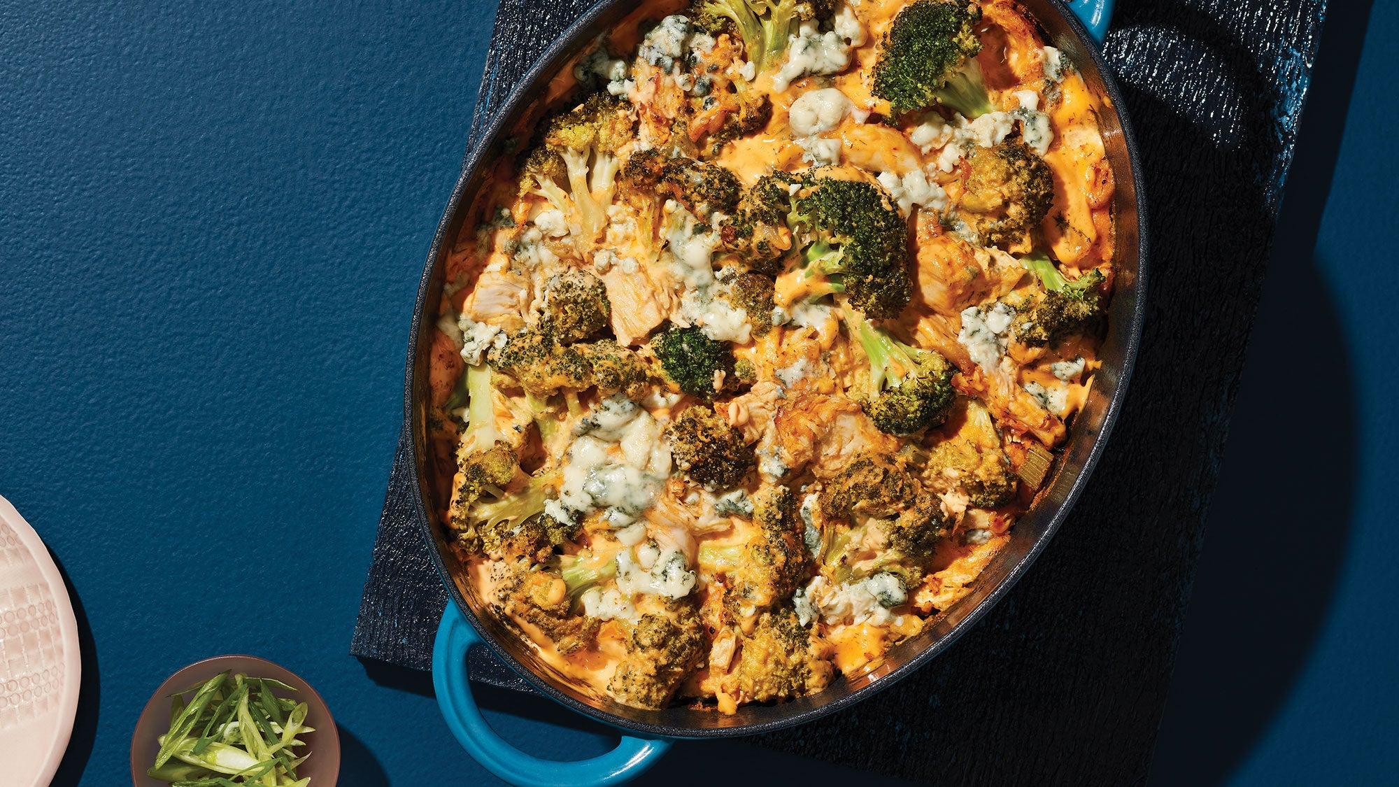 Buffalo Chicken & Broccoli Casserole recipe