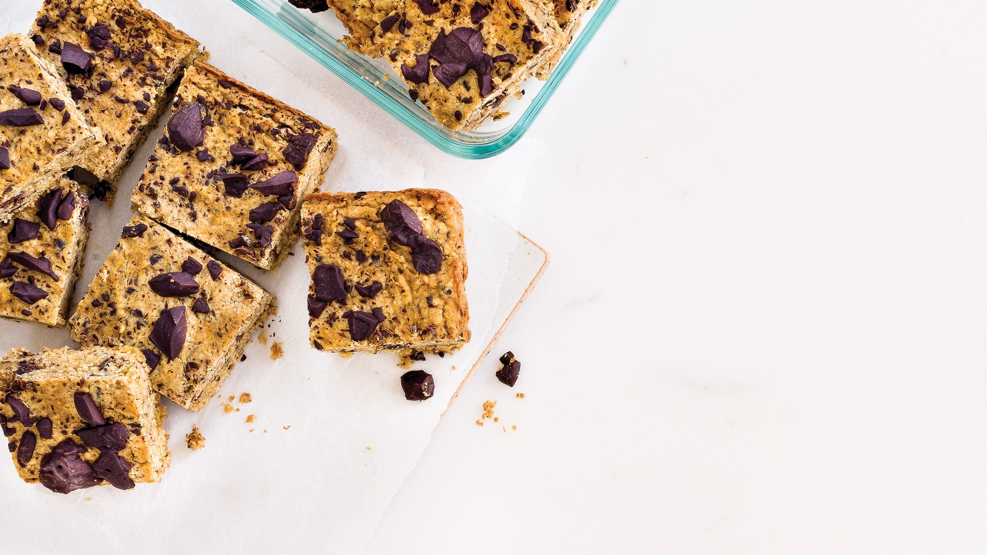 Protein-Packed Chickpea Blondies recipe