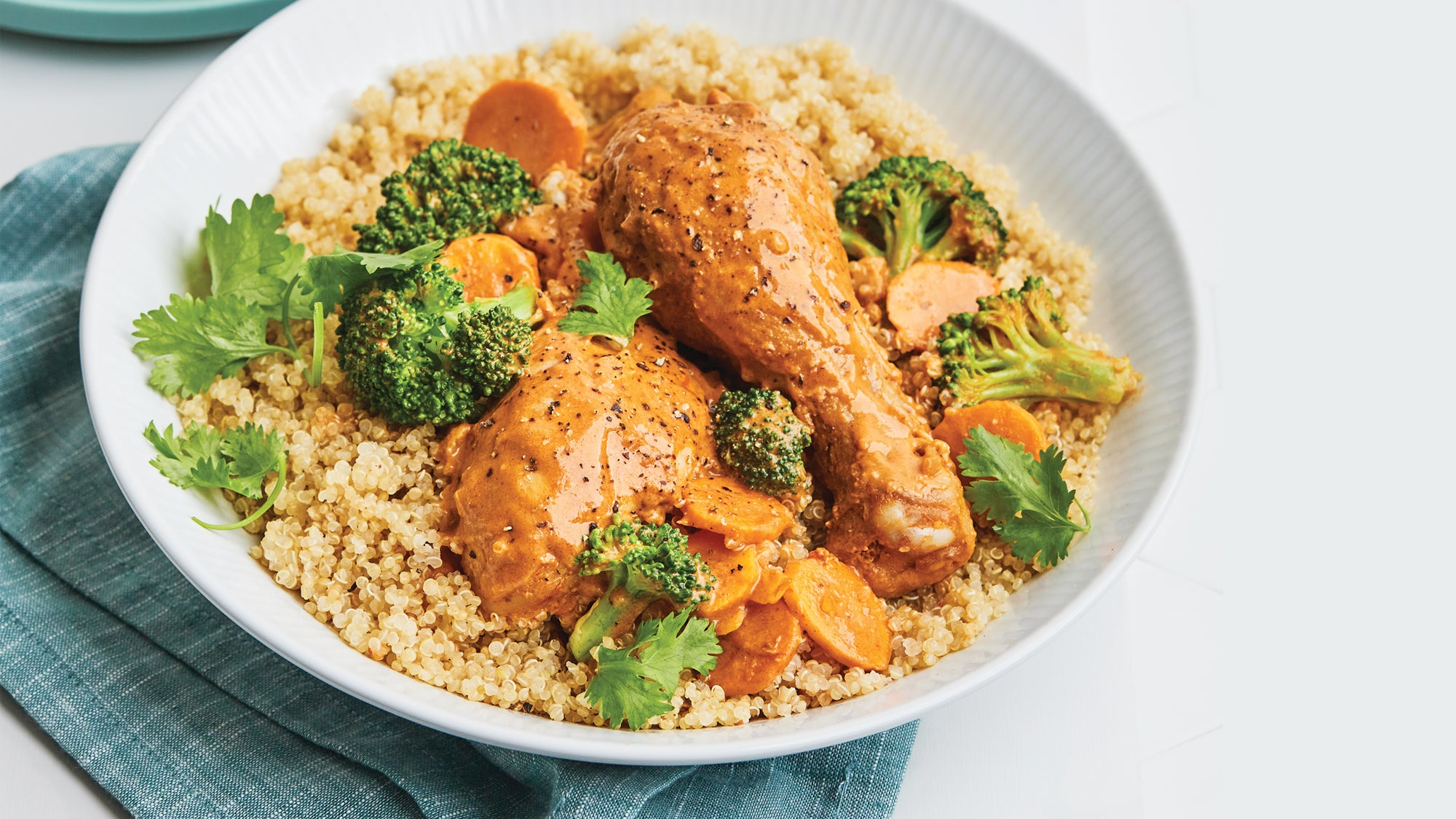 Thai Curry Peanut Chicken Drumsticks recipe