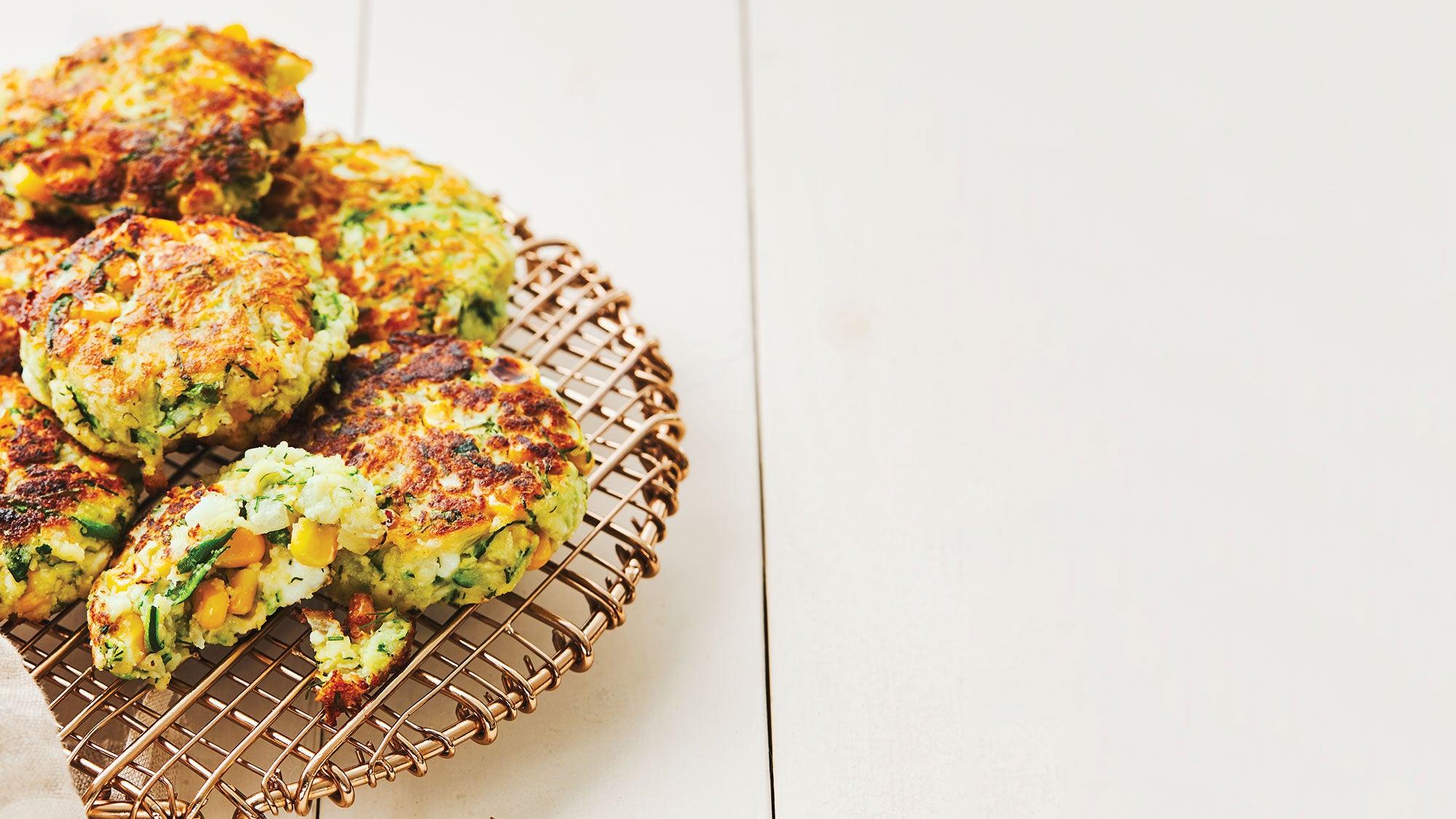Zucchini Feta Fritters recipe