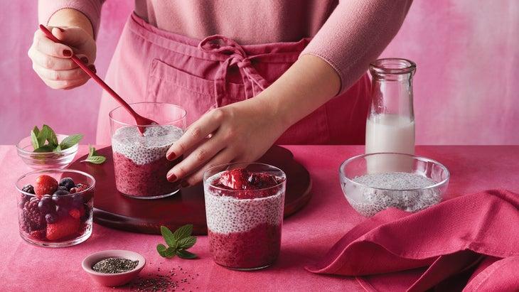 Berry Chia Parfait Recipe