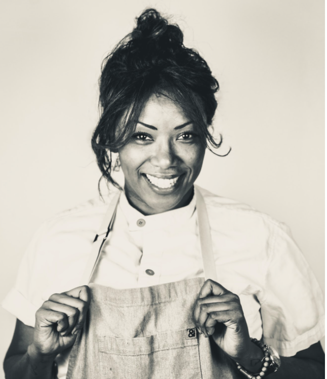 Pro chef Nyesha is a graduate of the prestigious Culinary School at the Art Institute of California in Los Angeles.