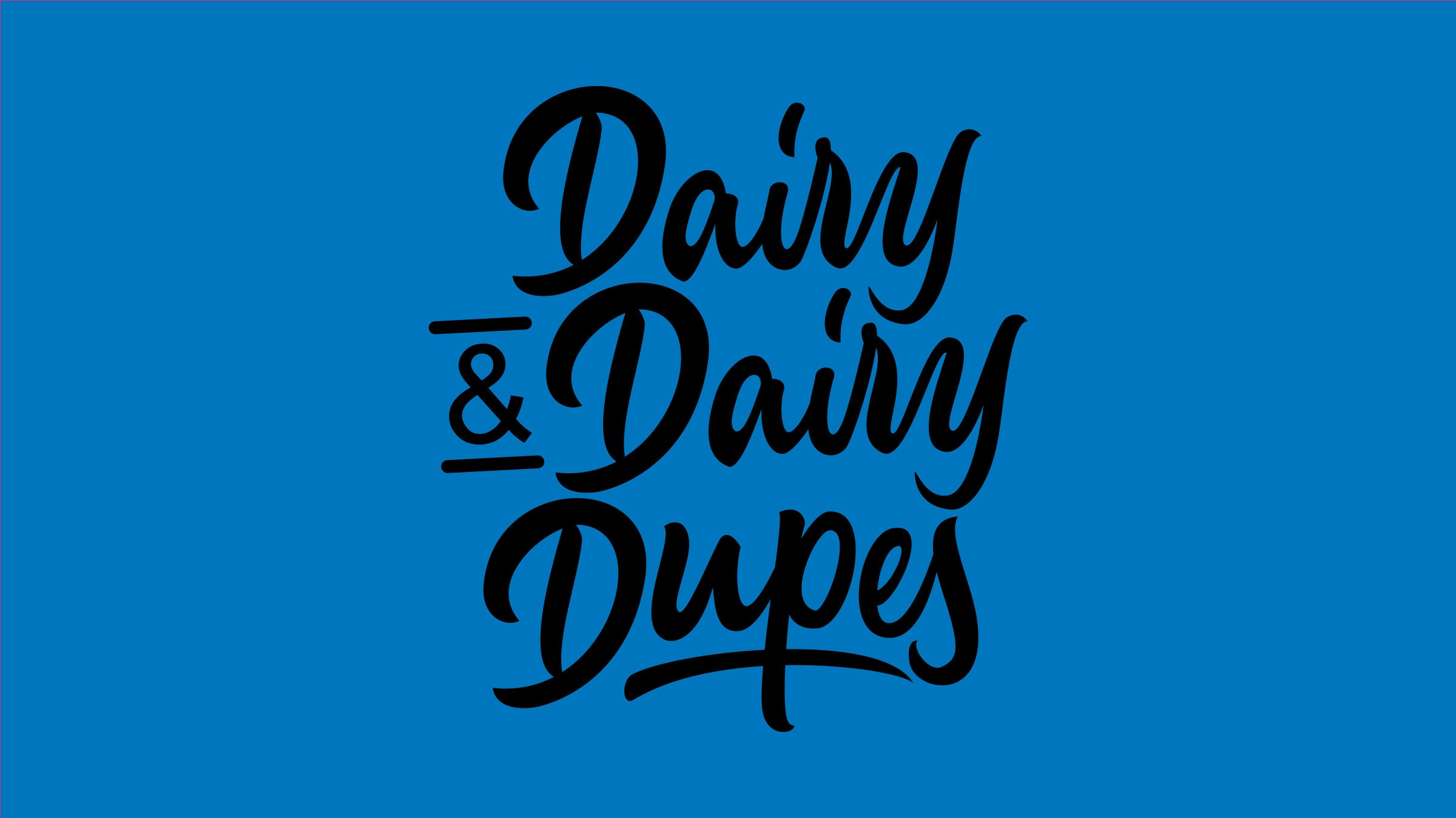 Dairy & Dairy-Free Dupes