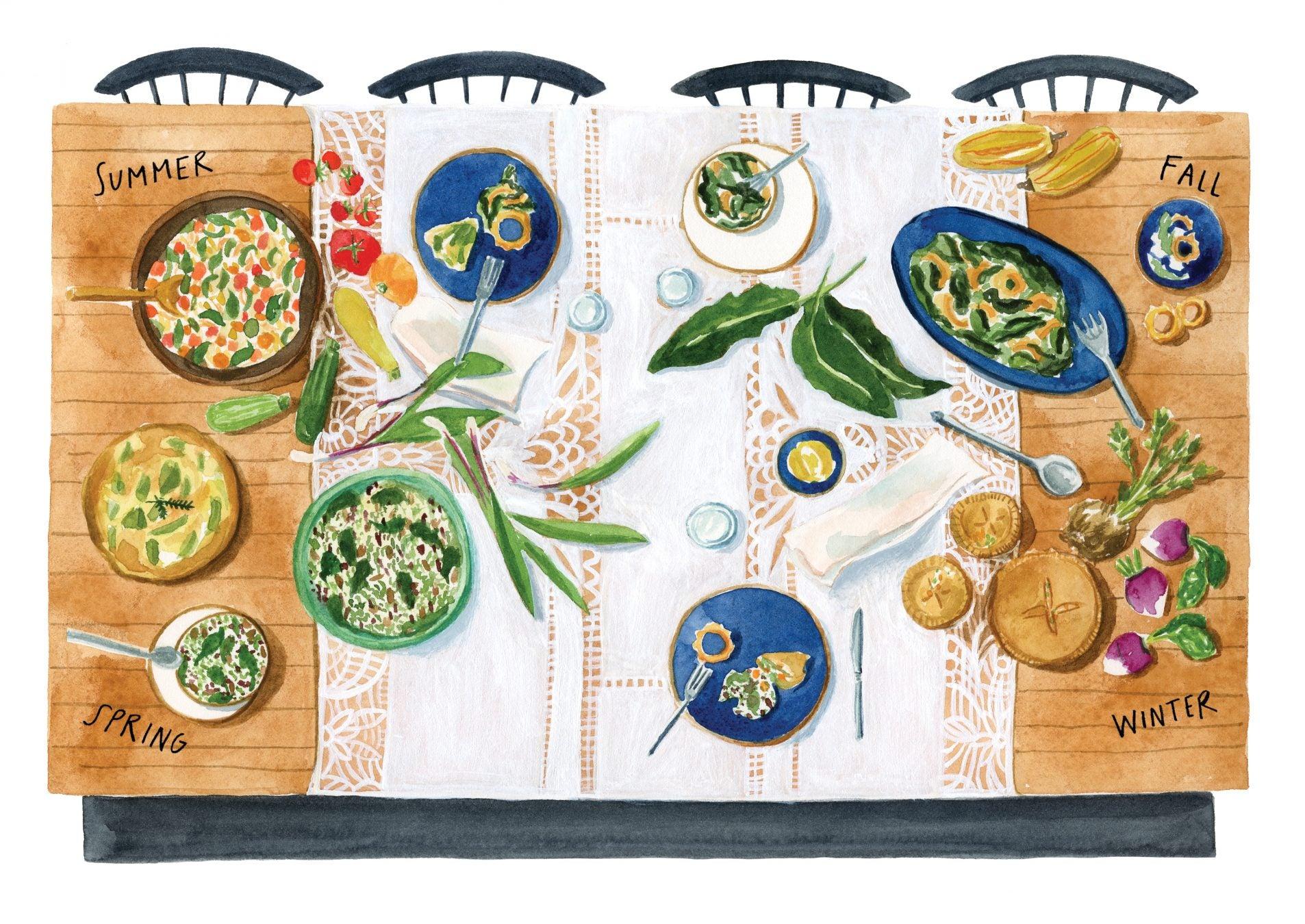 Women in Food: An Artist Tells Their Stories
