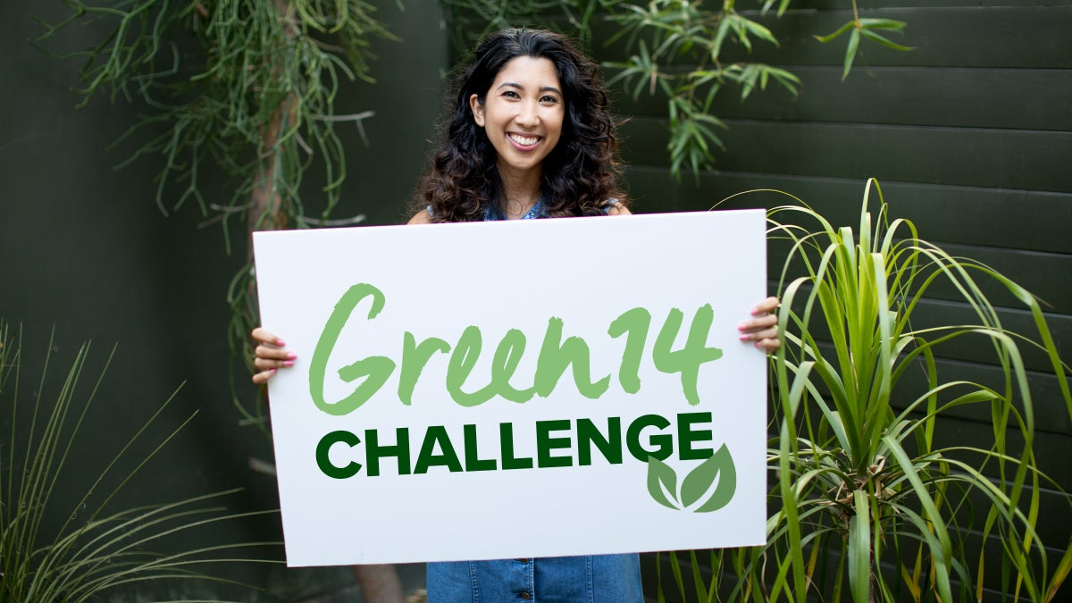 Join The Green14 Challenge!